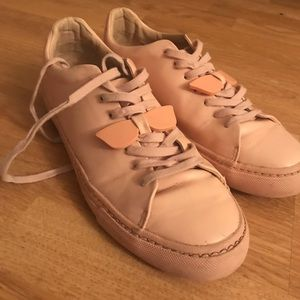 ZARA TRAFALUC Pink Sneakers with Sunglass Detail